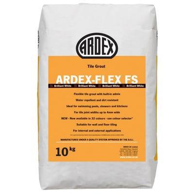 Ardex Flex FS Brilliant White Tile Grout 10Kg