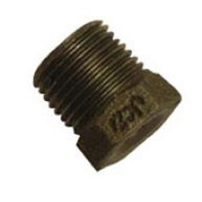 Malleable Black Iron Reducing Bush 1'' x ½''