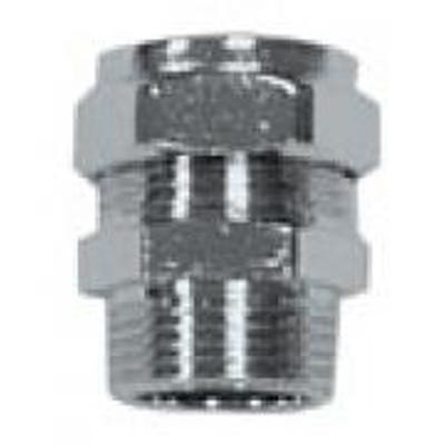 Compression Chrome Male Coupling 15mm x ½''
