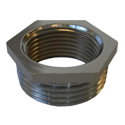 Compression Chrome Reducing Bush 19mm x 13mm
