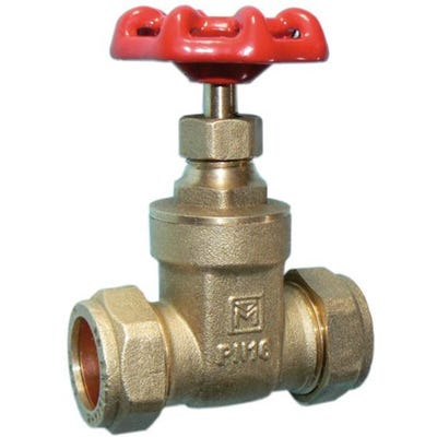 Brass Gate Valve 15mm