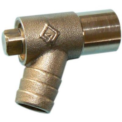 Brass Light Pattern Drain Off Bib Tap 15mm