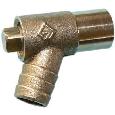Brass Light Pattern Drain Off Bib Tap 15mm