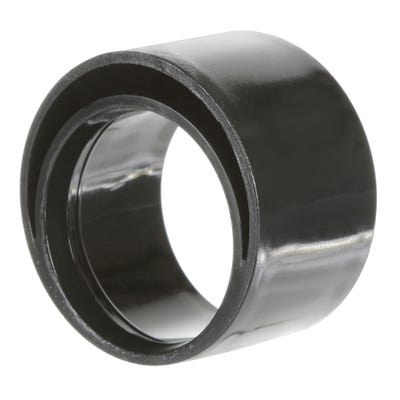 50mm x 40mm Polypipe Waste Reducer Black MuPVC MU311B