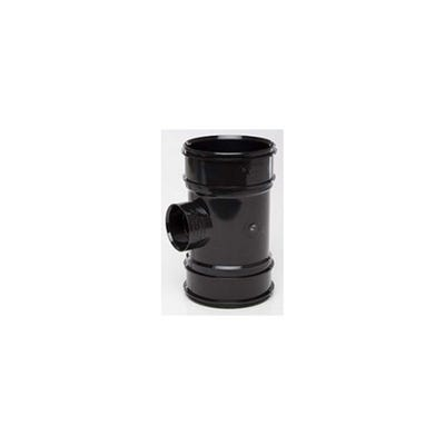 110mm Polypipe 40mm Boss Pipe Double Socket Black BP422B