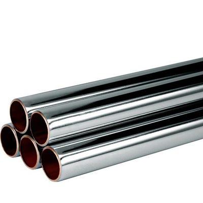 Copper Tube 22mm x 3m Chrome