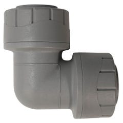 15mm Polypipe Polyplumb Elbow Grey PB115