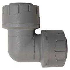 15mm Polypipe Polyplumb Elbow Grey PB115