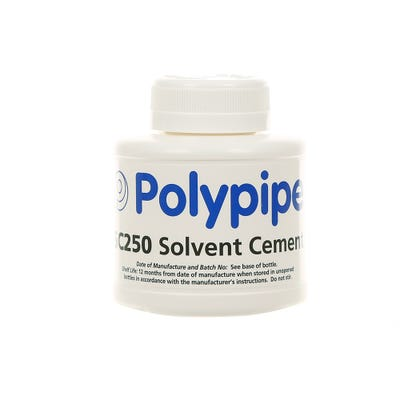250ml Polypipe Solvent Cement Tin SC250