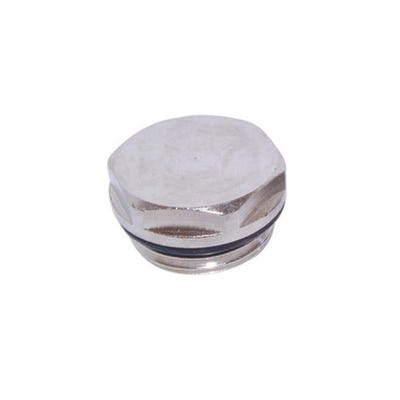 Radiator Plug Chrome Plated