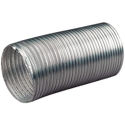 Manrose 100mm / 4'' x 3m Length Aluminium Ducting