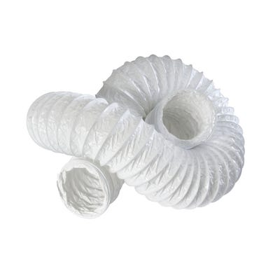 Manrose 100mm / 4'' x 3m PVC Flexible Round Hose