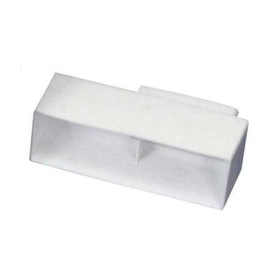 Manrose 110mm x 54mm Airbrick Adaptor For Rigid Flat Channel