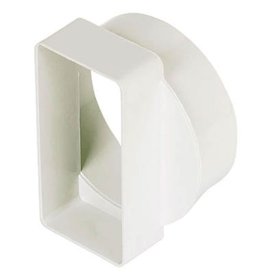 Manrose 204mm x 60mm To 125mm Round To Rectangular Adaptor
