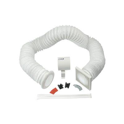 Manrose 100mm / 4'' White Timer Shower Fan
