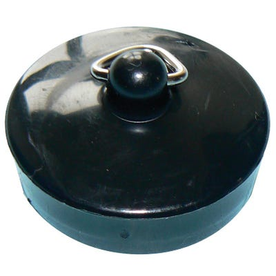 Kwikpak 38mm Basin Plug Black