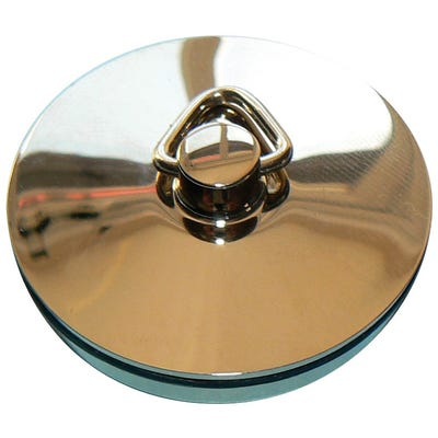Kwikpak 38mm Basin Plug Chrome