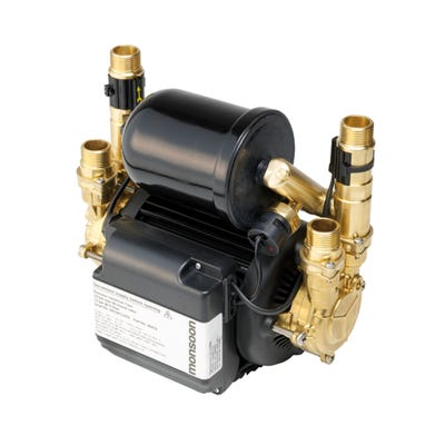 Stuart Turner Monsoon Negative / Positive U1.5-1.0 Bar Uni Twin Pump 46505