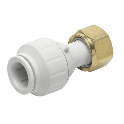 John Guest Speedfit Straight Tap Connector 15mm x ¾''