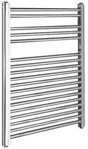 Kartell Straight Chrome Towel Rail 400mm x 800mm