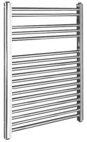 Kartell Straight Chrome Towel Rail 400mm x 1200mm
