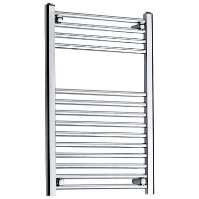Kartell Straight Chrome Towel Rail 500mm x 800mm