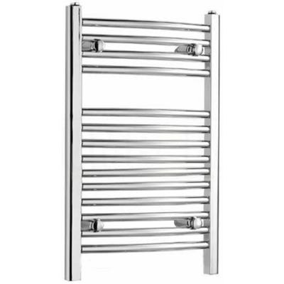 Kartell Curved Chrome Towel Rail 500mm x 800mm