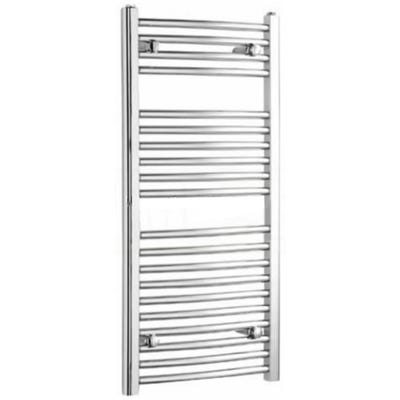 Kartell Curved Chrome Towel Rail 500mm x 1200mm