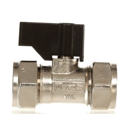 Lever Ballofix Valve Chrome Plated 15mm