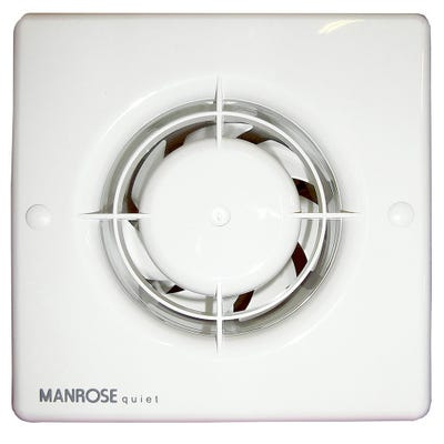 Manrose Quiet Extractor Fan Timer Model QF100T