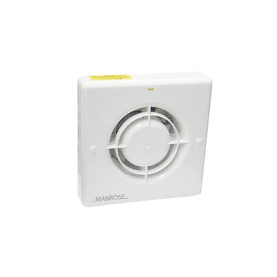 Manrose Quiet Extractor Fan Humidistat Model QF100H