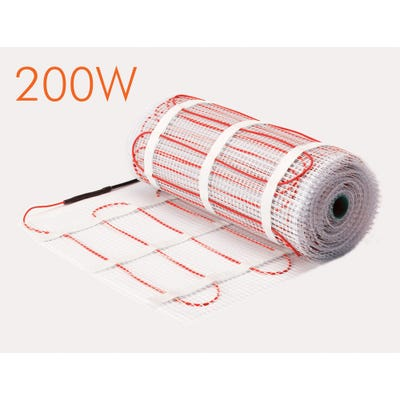 SunStone 200W Electric Underfloor Heating Mat 1m²