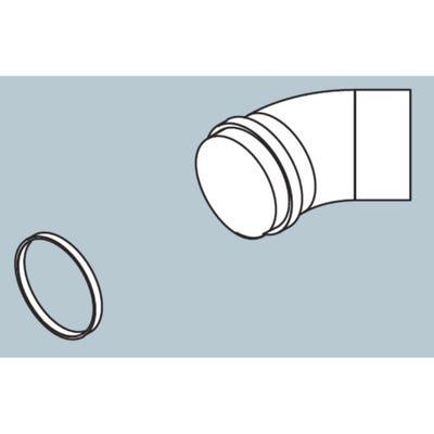 Biasi Pluming Elbow - 45° Bend x 60mm Diameter