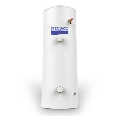 RM 180L Stelflow 180Ds Solar Direct Unvented Cylinder