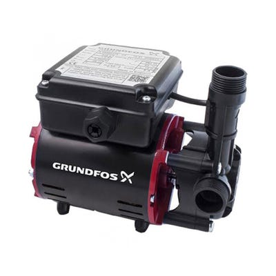 Grundfos 2.0 Bar Positive Single Impeller Regenerative Shower Pump 98950218