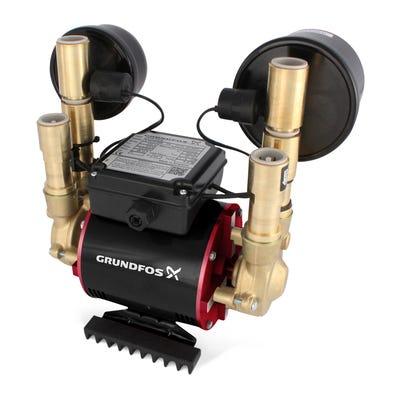 Grundfos Amazon 1.5 Bar Universal Twin Impeller Shower Pump