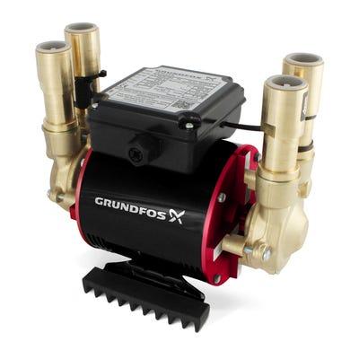 Grundfos Amazon 2.0 Bar Positive Twin Impeller Shower Pump