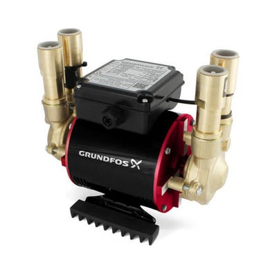 Grundfos Amazon 3.0 Bar Positive Twin Imepeller Shower Pump