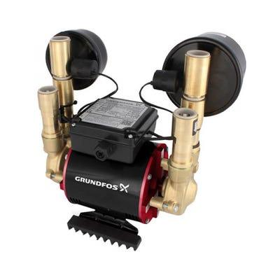 Grundfos Amazon 3.0 Bar Universal Twin Impeller Shower Pump