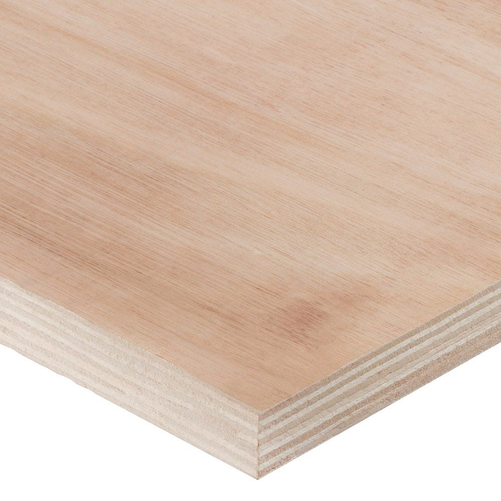 B//BB Plywood Piece Multiple Measurements