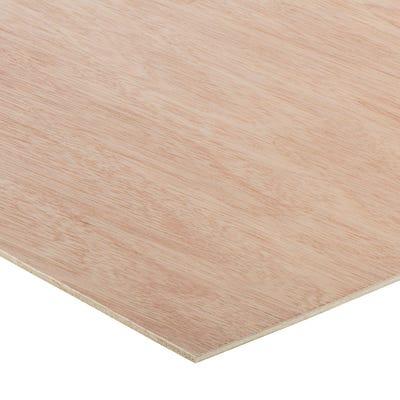 3.6mm Hardwood External Grade Plywood B/BB 2440mm x 1220mm (8' x 4')
