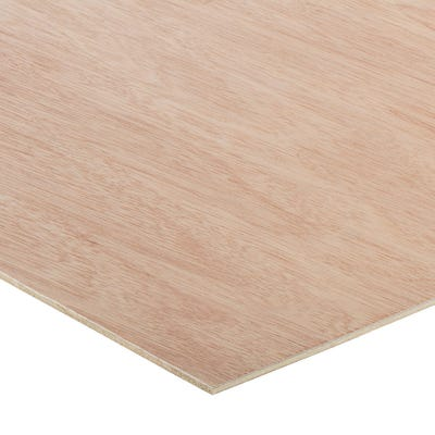3.6mm Hardwood External Grade Plywood B/BB 2440mm x 1220mm (8' x 4')