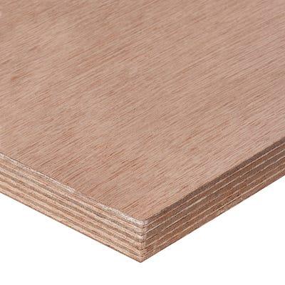 25mm Far Eastern Marine Grade Plywood 2440mm x 1220mm (8' x 4')