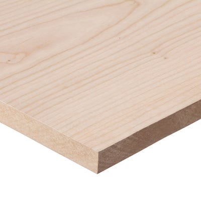 19mm Cherry Veneered MDF Board A/B Grade 2440mm x 1220mm (8' x 4')
