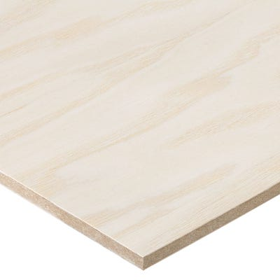 6mm Ash Veneered MDF Board A/B Grade 2440mm x 1220mm (8' x 4')