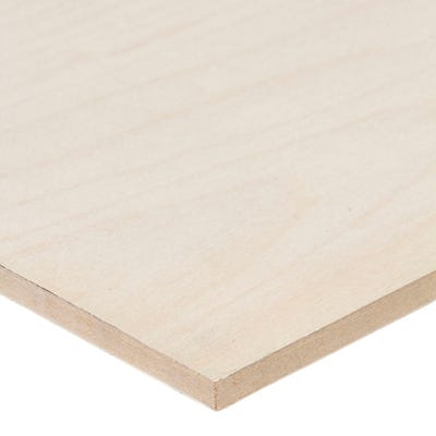 6mm Maple Veneered MDF Board A/B Grade 2440mm x 1220mm (8' x 4')