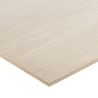 6mm American White Oak Veneered MDF Board A/B Grade 2440mm x 1220mm (8' x 4')