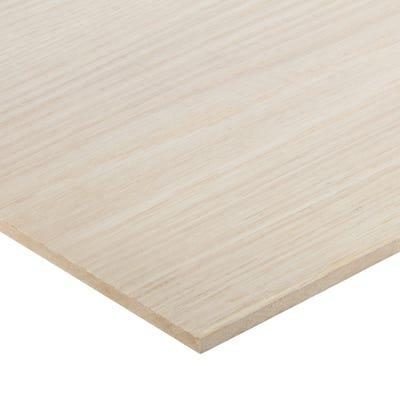 6mm American White Oak Veneered MDF Board A/B Grade 2440mm x 1220mm (8' x 4')