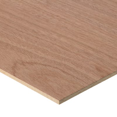 6mm Sapele Veneered MDF Board A/B Grade 2440mm x 1220mm (8' x 4')