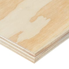 18mm Softwood Plywood C+/C Grade 2440mm x 1220mm (8' x 4') Pack of 50